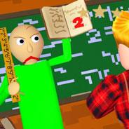 Игра Злой учитель Балди в пазле