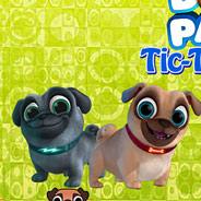 Игра Дружные мопсы: Крестики Нолики на Двоих - картинка