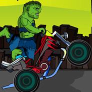 Игра Халк: Гонки на мотоцикле - картинка