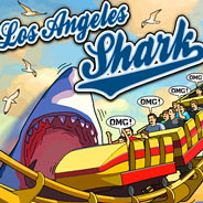 Игра Акулы в Лос-Анджелесе - картинка