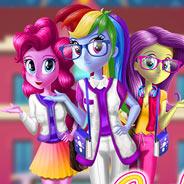 Игра Девочки из Эквестрии: Школьные Модницы