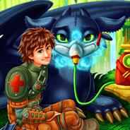 Игра Доктор для Дракона Беззубика - картинка