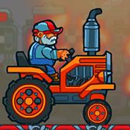 Игра Гонки на Тракторе - картинка