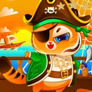Игра Котик Бубу: Пират