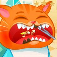 Игра Котик Бубу у Зубного Доктора - картинка