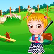 Игра Малышка Хейзел: Домик на Дереве - картинка