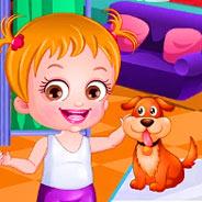 Игра Малышка Хейзел и ее Питомцы - картинка
