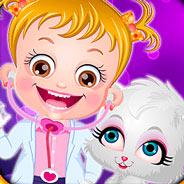 Игра Малышка Хейзел и ее Щенок - картинка