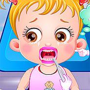 Игра Малышка Хейзел Лечит Зубы - картинка