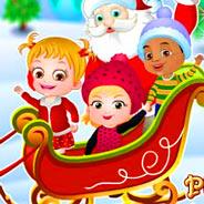 Игра Малышка Хейзел: Новогодний Сюрприз - картинка