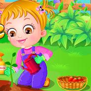 Игра Малышка Хейзел: Ухаживаем за Садом