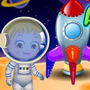 Игра Малышка Хейзел в Космосе - картинка