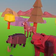 Игра Охотник в Виртуальном Лесу - картинка