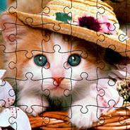 Игра Пазл с Животными: Котята для Малышки