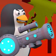 Игра Пингвин: Стрельба из Пушки
