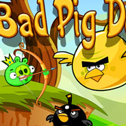 Игра Плохие Свинки: Стрелялка по Злым Птицам - картинка