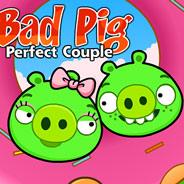 Игра Плохие Свинки: Влюбленная Парочка - картинка
