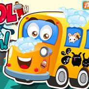 Игра Помой Школьный Автобус - картинка