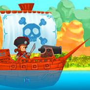 Игра Пушки: Пираты против Англичан - картинка