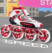 Игра Роликовые Соревнования  на Скорость - картинка