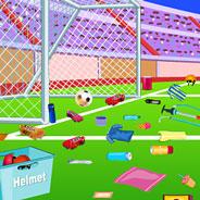 Игра Уборка После Футбольного Матча - картинка