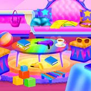 Игра Уборка с Принцессой