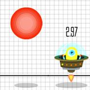 Игра Выживание Инопланетян: Падающие Шары