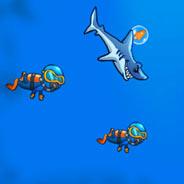 Игра Хищная Акула на Охоте