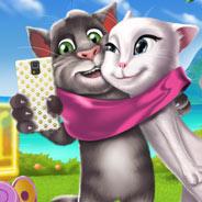 Игра Говорящий Том и Анжела: Время Веселья