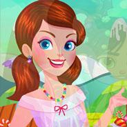 Игра Конфетная Страна: Одень Девочку