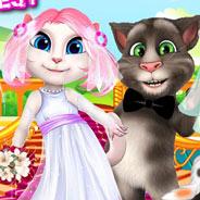 Игра Свадьба Кота Тома и Анжелы