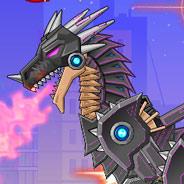 Игра Боевой Робот: Черный Дракон - картинка