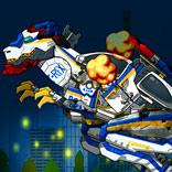 Игра Полицейский Робот Динозавр - картинка