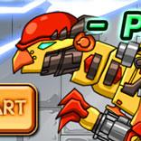 Игра Роботы Динозавры: Собери Пахицефалозавра - картинка