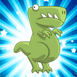 Игра Crazy Dino Park