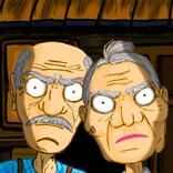 Игра Grandpa And Granny Escape House